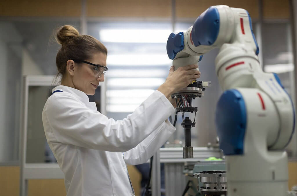 Manufacturing with Collaborative Robots